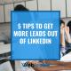 Get more leads on linkedin